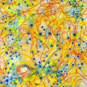 meditation-1-70x100cm-acryl