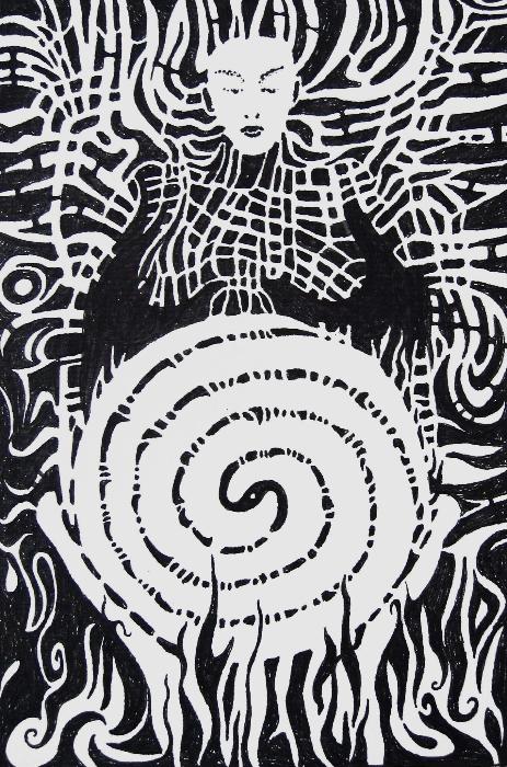 shaman-18x27cm-ink
