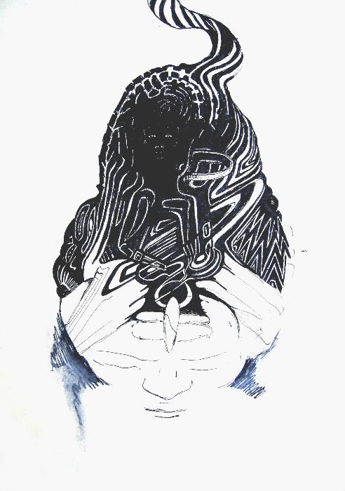 thinking-mind-ego-22x33cm-ink