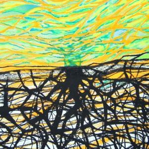 014-kabbala-11-daath-gate-67x93cm-acryl