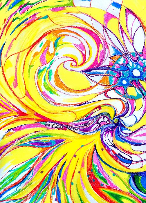 birth-70x100cm-wax-pastel-ok